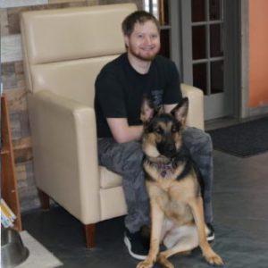 Chris & Army USMC